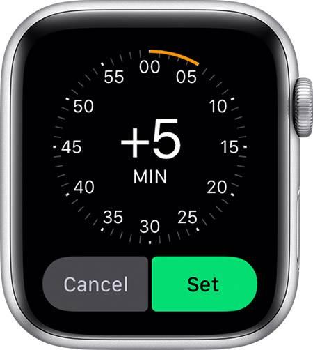 如何更改Apple Watch上显示的时间
