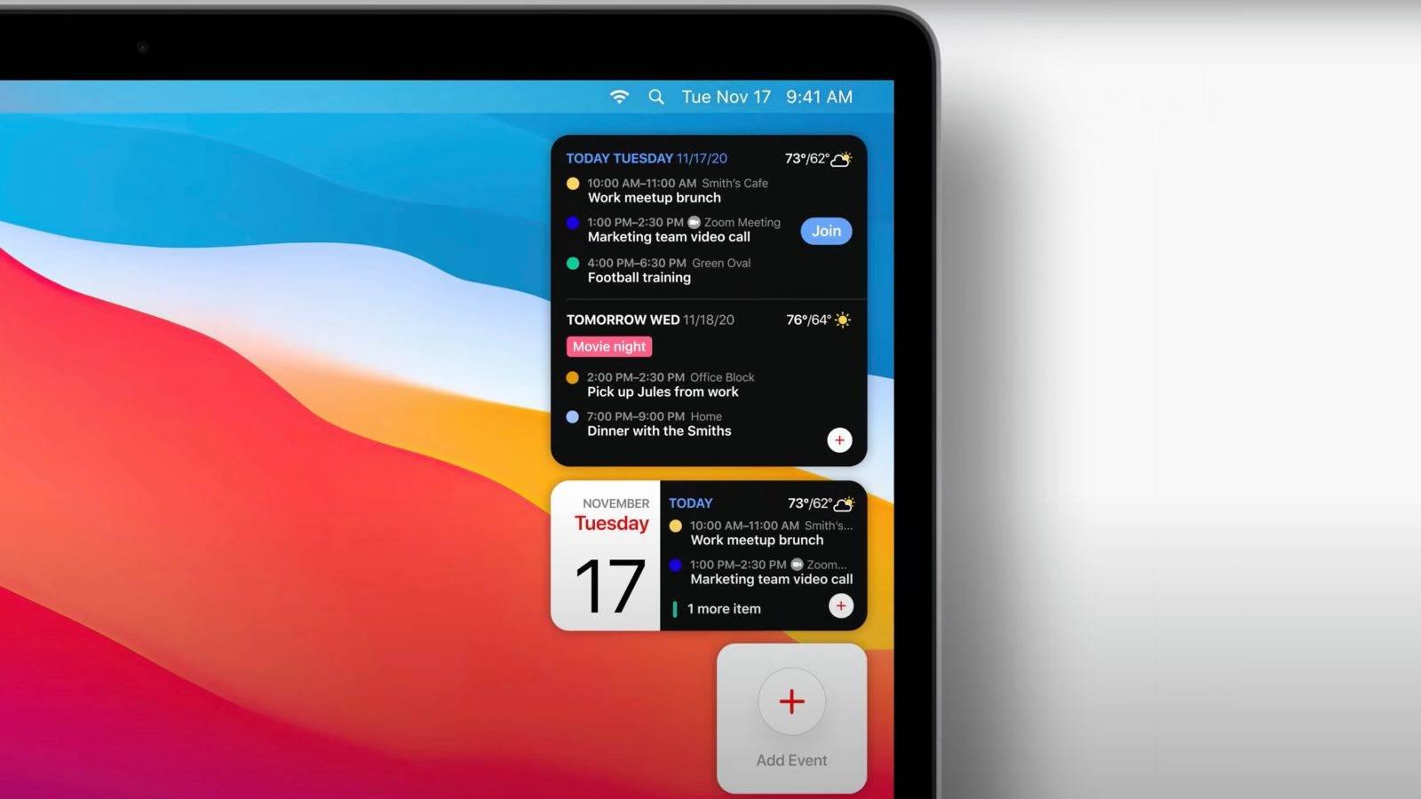 适用于Mac的Fantastical更新了Apple Silicon支持,macOS Big Sur小部件等