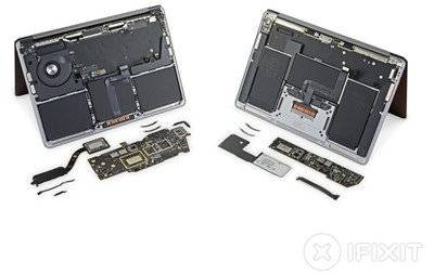 iFixit维修:M1 MacBook Pro和MacBook Air内部部件几乎与Intel型号相同