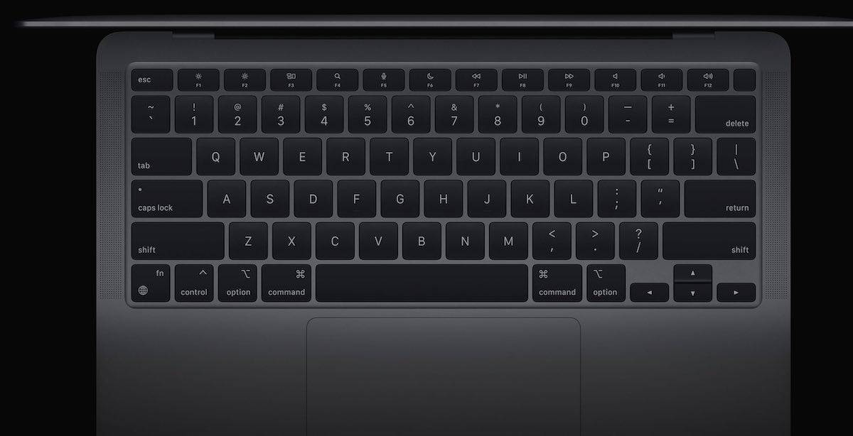 "MacBook Air获得专用的听写,Spotlight和""请勿打扰""功能键"