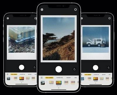 适用于iOS的RTRO相机具有新的实时即时胶片功能