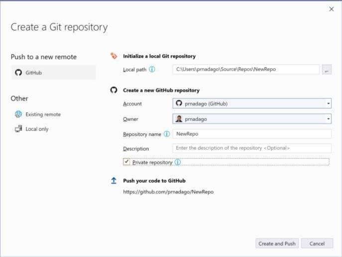 Microsoft在Visual Studio 2019中发布新的Git体验