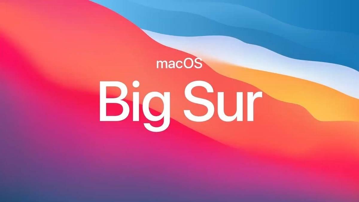 Apple针对特定Mac型号发布了新的macOS Big Sur版本