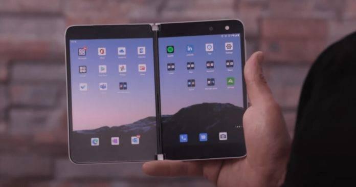Surface Duo获得了多任务处理升级,带来了新的打字体验