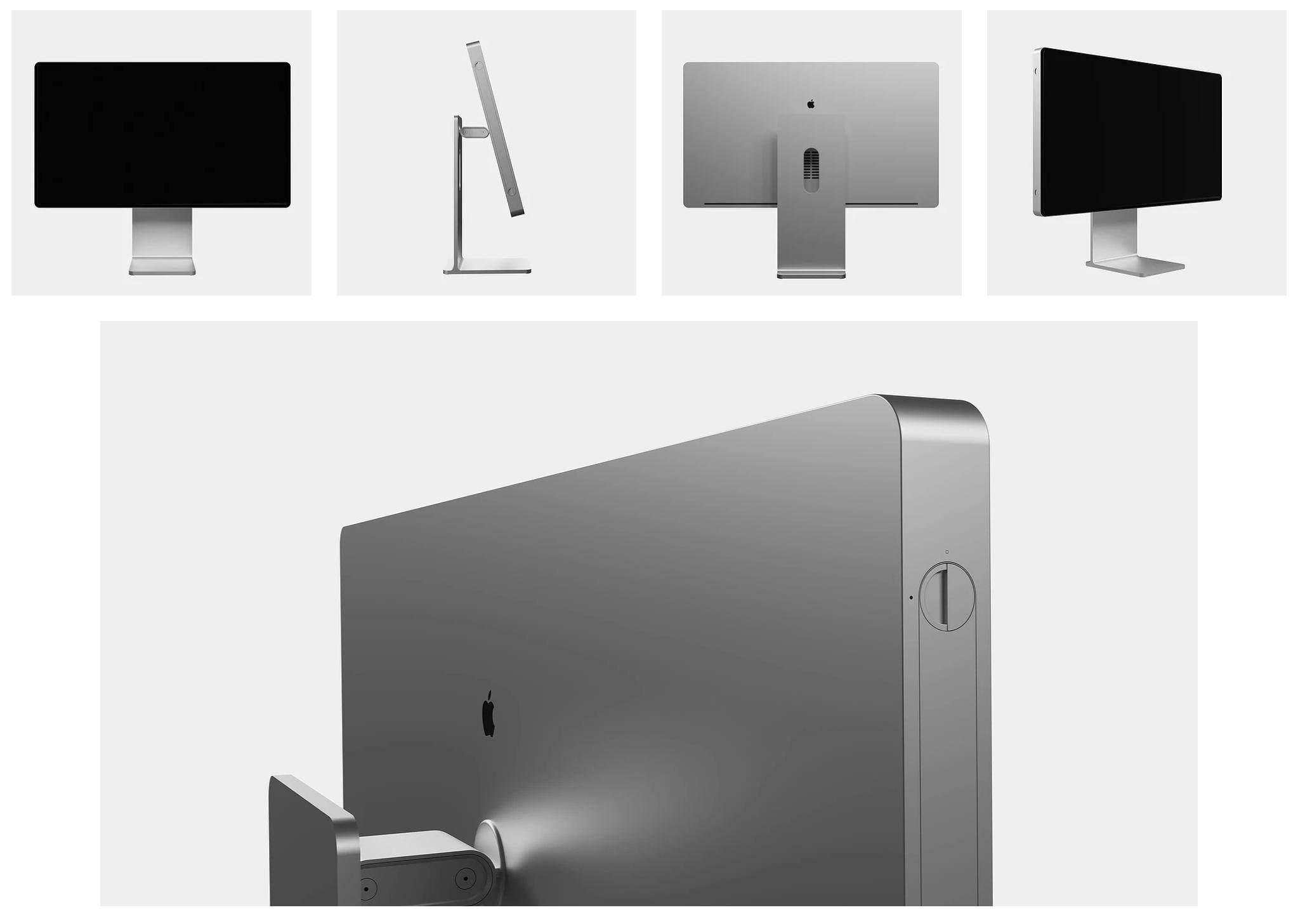 这个概念说明了Apple如何将Pro Display XDR转变为iMac Pro