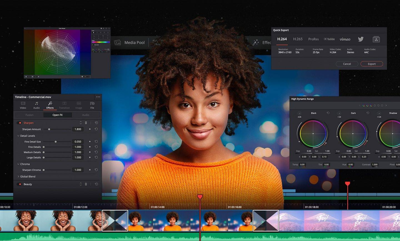 DaVinci Resolve的新Beta版现已提供,支持M1驱动的Mac