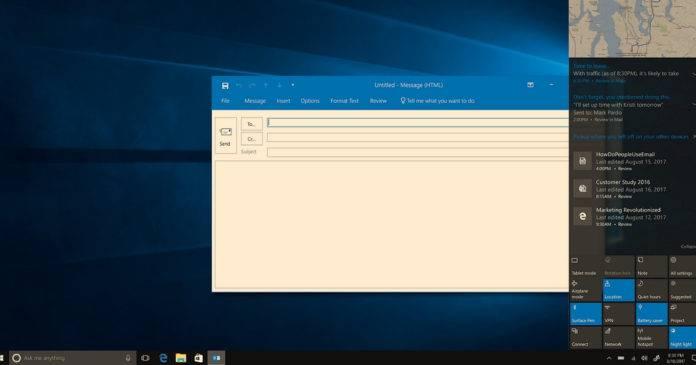 微软表示Windows 10下个月将收到更少的更新