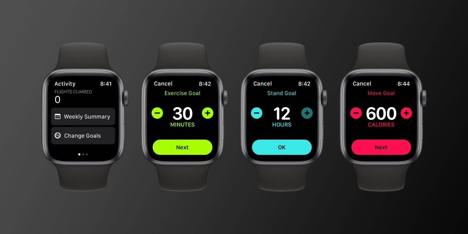 如何使用watchOS 7更改Apple Watch的移动,运动和站立目标