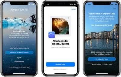 苹果开发人员现在能够创建订阅代码,为了吸引新用户和头客