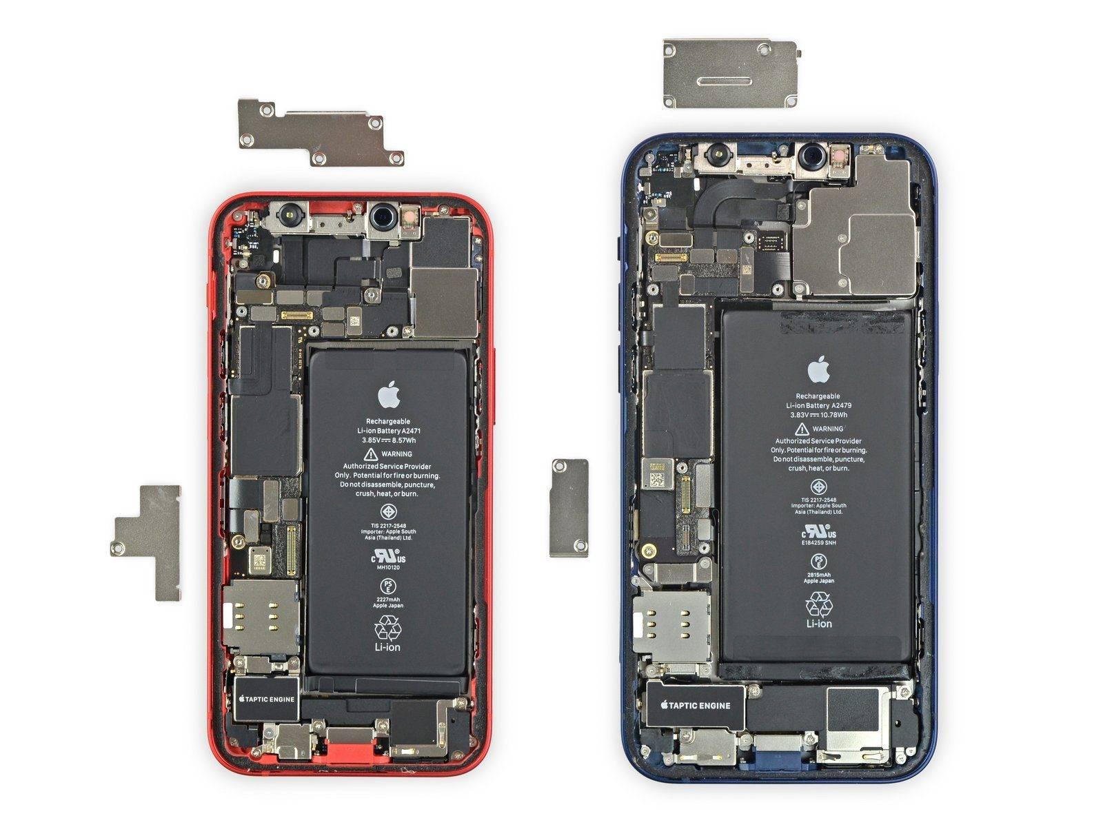 """分享了""""小巧"""" iPhone 12 mini拆解的第一部分"""