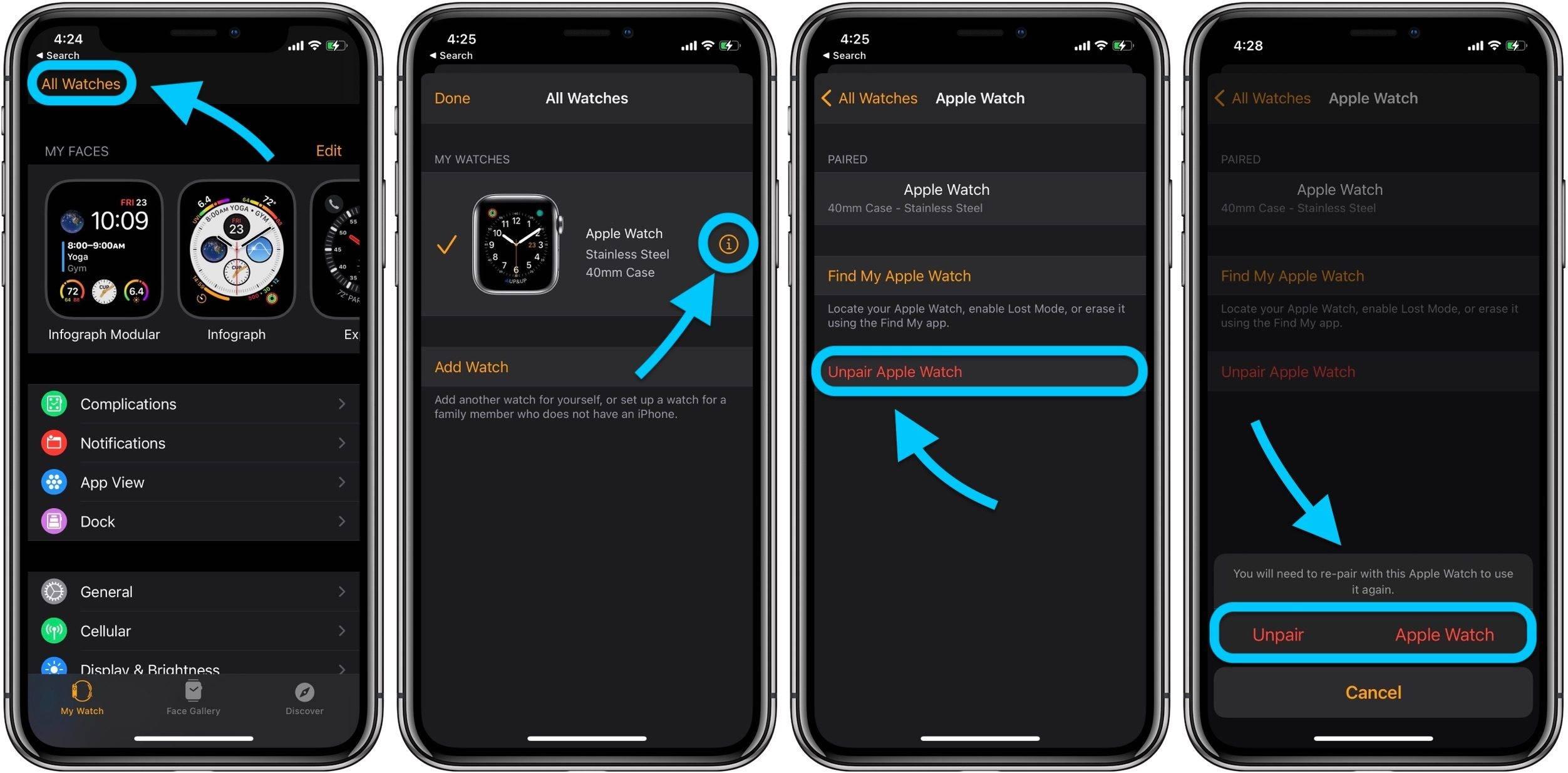如何在不丢失数据的情况下升级到新的Apple Watch Series 6