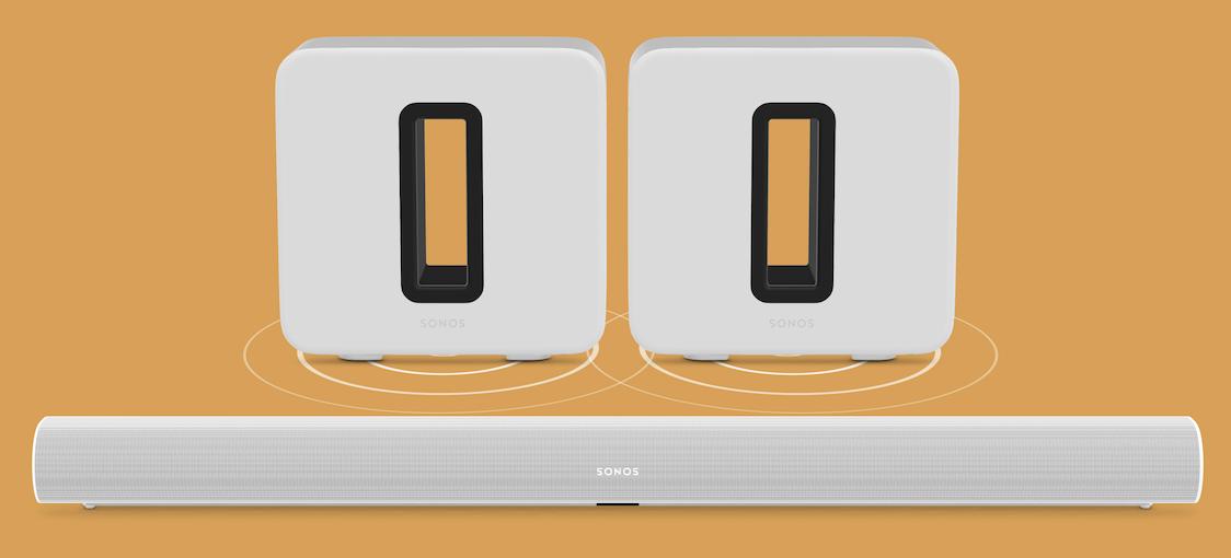 Sonos S2 iOS应用通过家庭影院设置启动对双Sub的支持