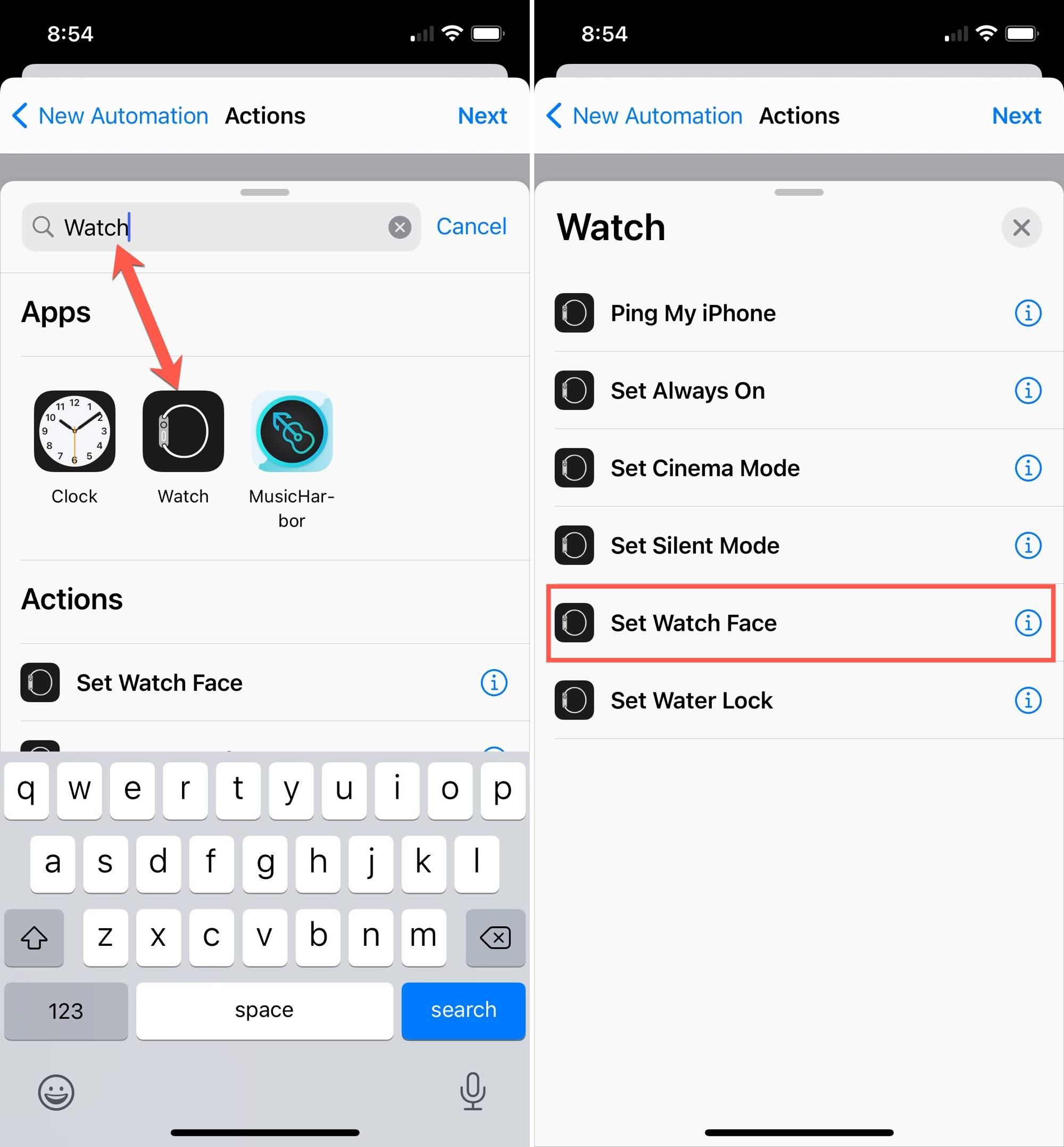 如何根据时间或位置自动执行Apple Watch面部更改