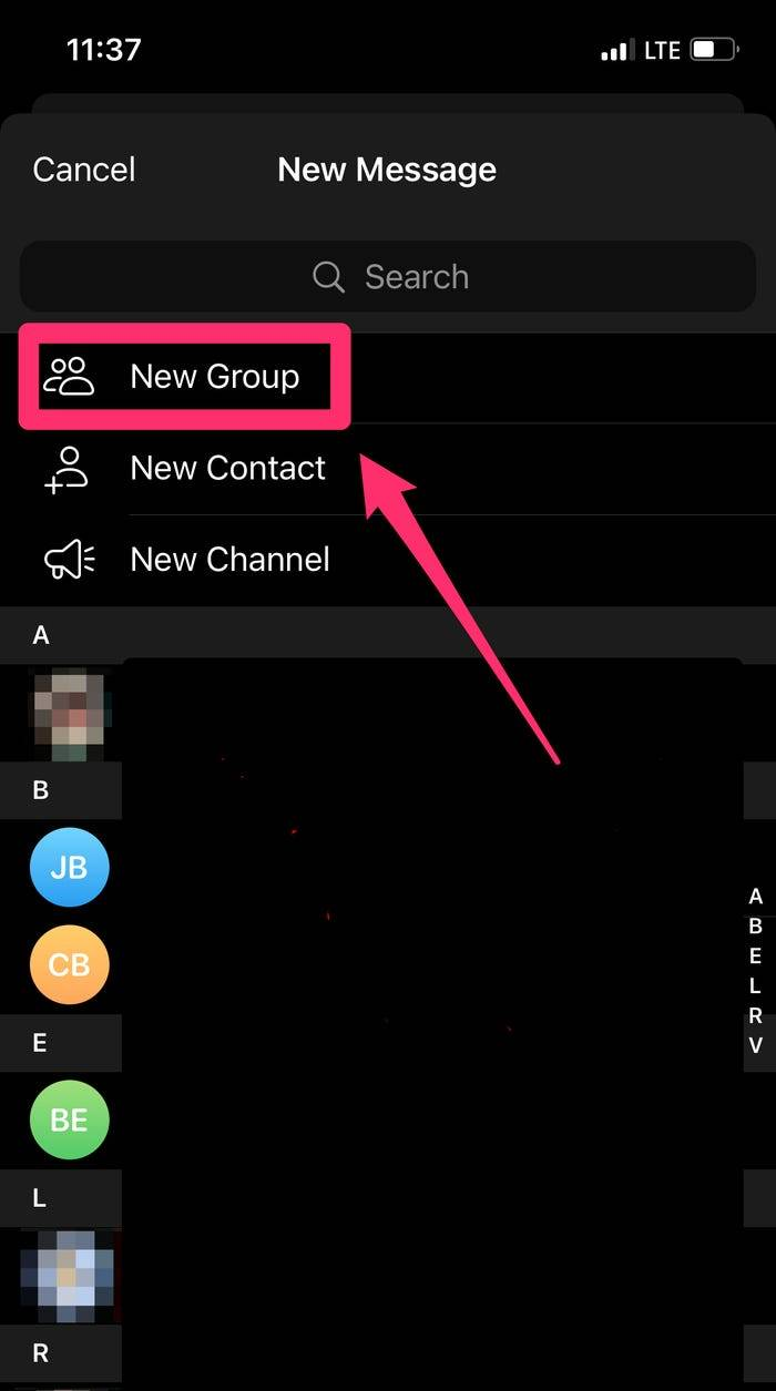 Telegram如何邀请人们进行电报,创建群聊以及在台式机和移动设备上添加新成员