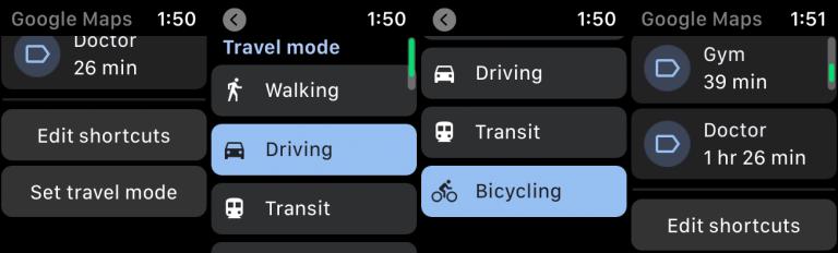 如何在Apple Watch上使用Google地图