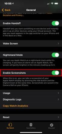 如何在Apple Watch上截屏