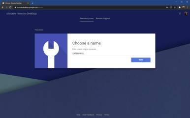 通过任何设备使用Chrome远程桌面远程连接到PC