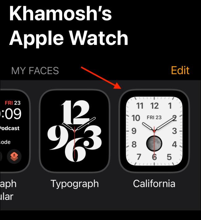 如何在Apple Watch上添加表盘