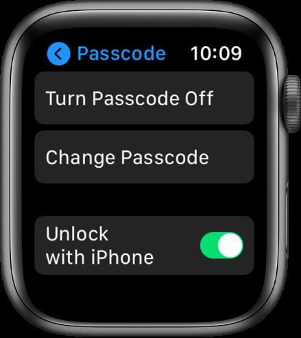 如何在Apple Watch上设置6位密码