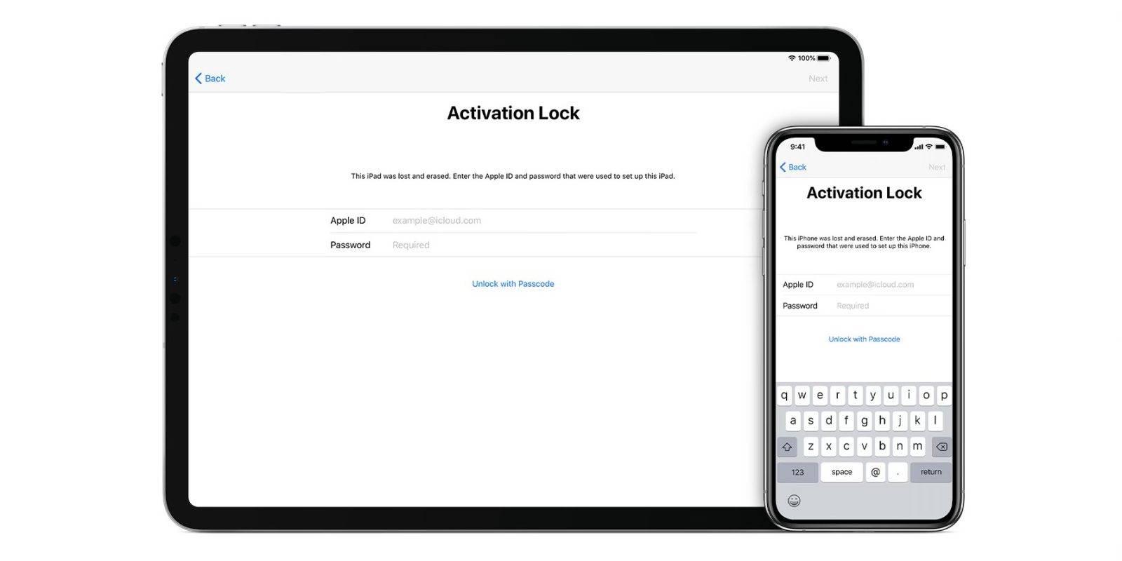 如何解决iPhone,iPad,Mac等设备上的激活锁问题