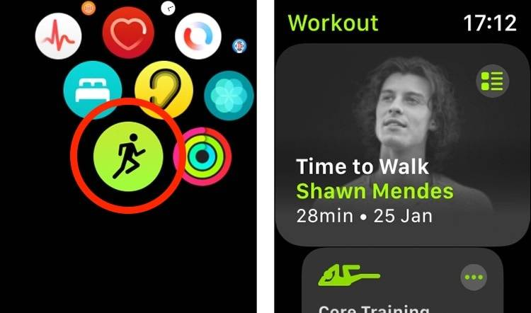 """如何在Apple Watch上使用""""走路时间""""功能"""