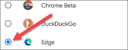 如何使Microsoft Edge成为Android上的默认浏览器