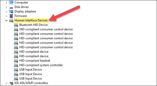 什么是人机接口设备(HID)?