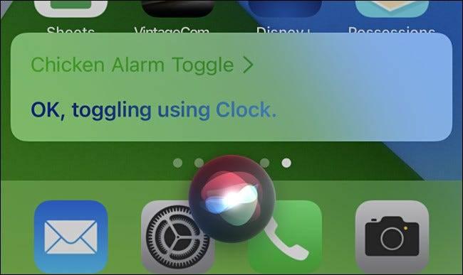如何在iPhone上使用Siri触发快捷方式