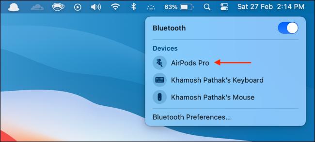如何阻止AirPods自动连接到Mac