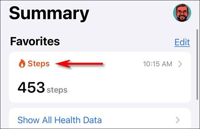 如何在iPhone上清除跟踪步骤的历史记录