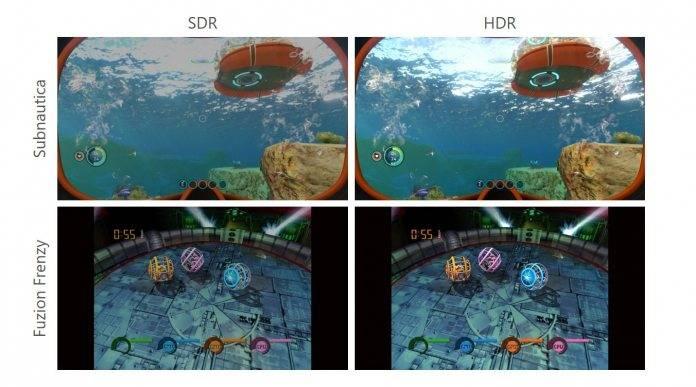 Windows 10接收自动HDR以匹配Xbox Series X