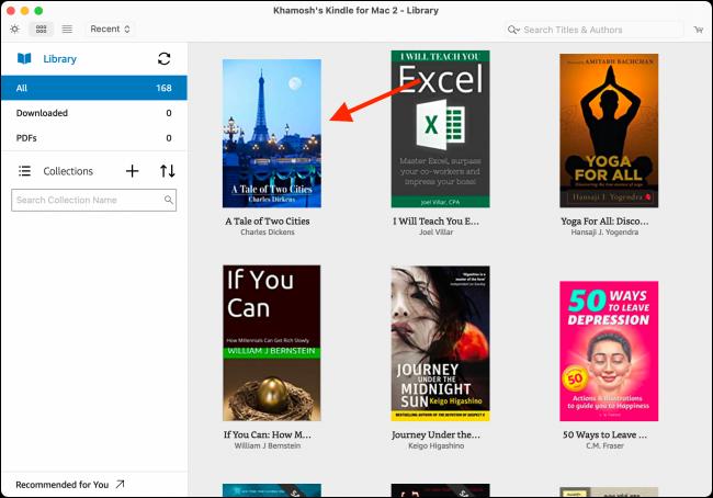 如何在计算机或网站上阅读Kindle电子书