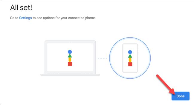 如何在Android手机上使用Chrome OS手机中心