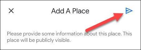 如何将丢失的地方添加到Google地图