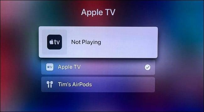 如何将AirPods连接到Apple TV