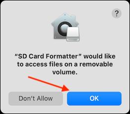 如何在Mac上快速格式化SD卡