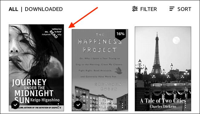如何在Amazon Kindle上查看书的页码