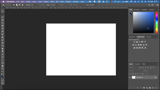 如何在Photoshop中更改屏幕模式