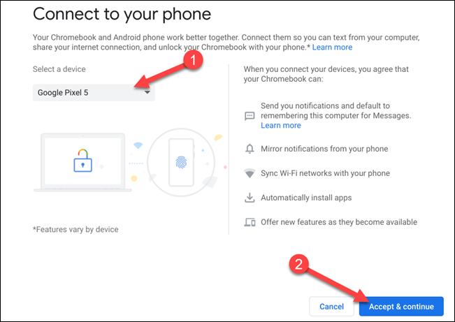 如何立即启用Chrome OS的Android Phone Hub