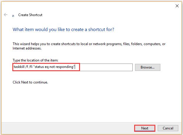 如何修复最终任务无法正常工作Windows 1