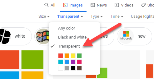 如何避免在Google图片上伪造透明图片