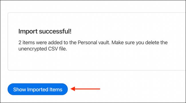 如何将LastPass密码传输到1Password