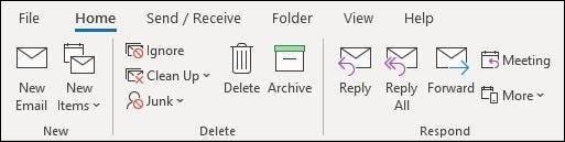 如何在Microsoft Office中切换回经典功能区