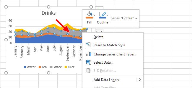 """如何使用Excel的""""快速分析""""来可视化数据"""