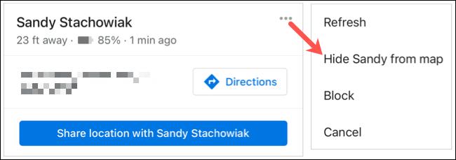 如何使用Google地图查找家人和朋友