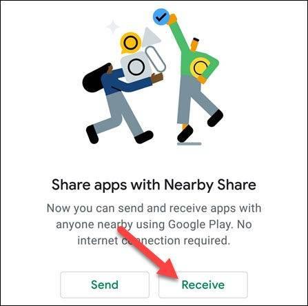 如何在Android设备之间发送应用