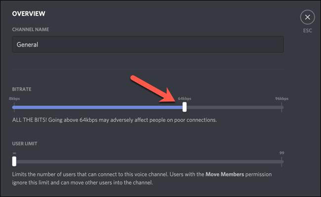 如何在Discord上调整音频比特率