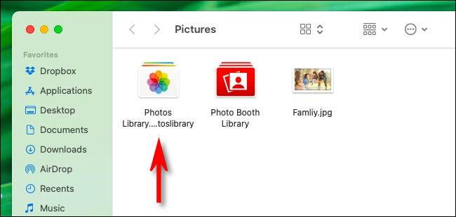 Mac上的照片库在哪里?