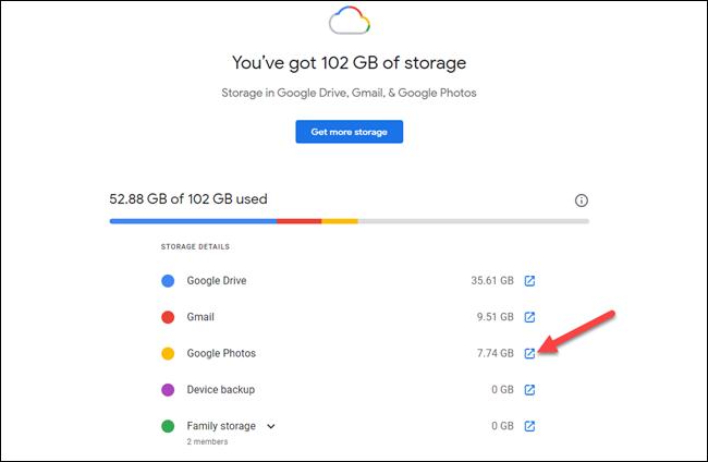 如何查看剩余的Google帐户存储空间