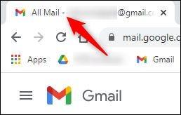 如何在浏览器选项卡中显示未读的Gmail电子邮件数量